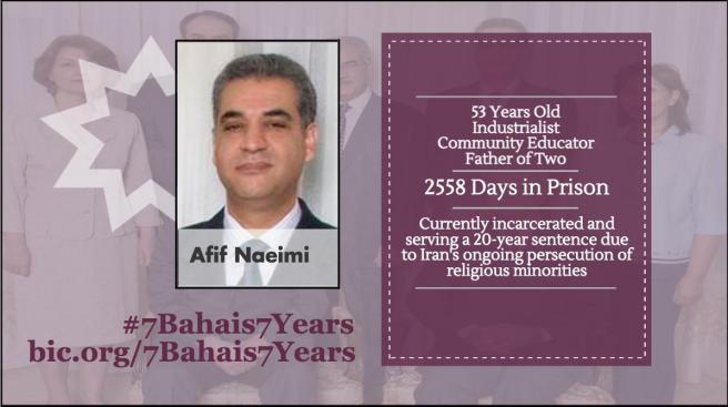 Baha'i Leaders - Afif Naeimi